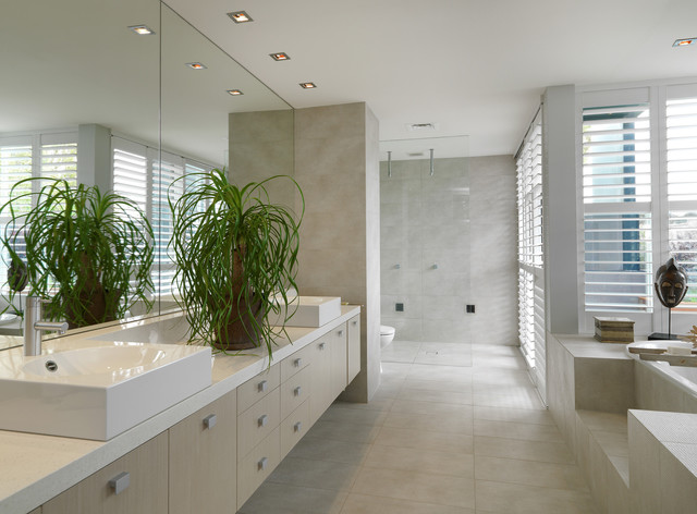 Brighton home contemporary bathroom melbourne by for Bathroom renovations brighton