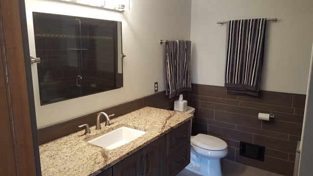Brighton master bath modern bathroom detroit by for Bathroom renovations brighton