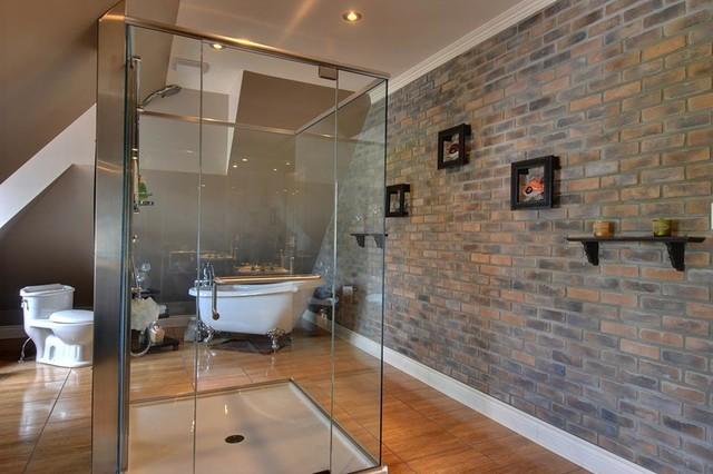 Briquette africa classique chic salle de bain - Salle de bain classique chic ...