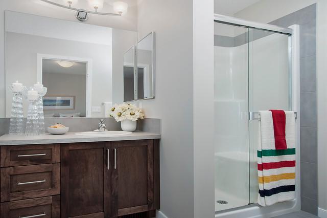 Bristol Show Home In EvansRidge NW Calgary Contemporary Bathroom Cal