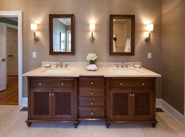 British colonial master suite traditional bathroom for Bathroom ideas victoria bc
