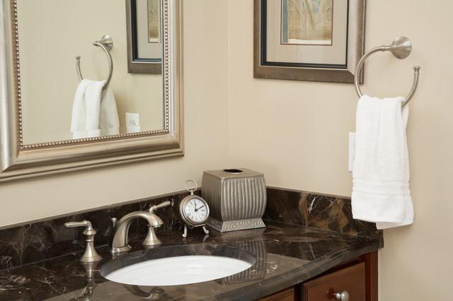 Broadlands master bath remodel transitional bathroom for Bathroom decor riverton