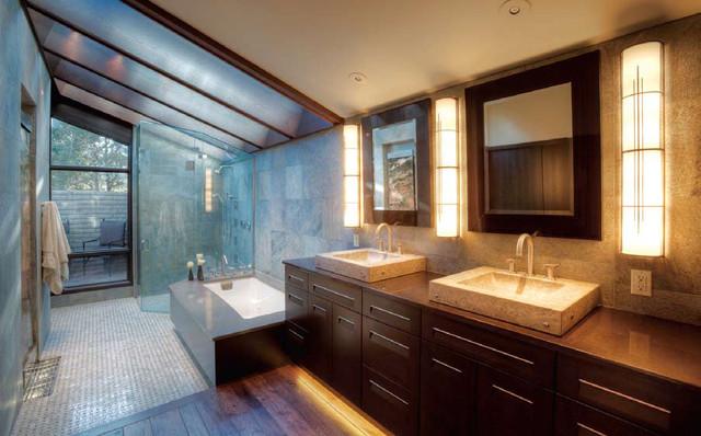 Broadmoor Residence modern-bathroom
