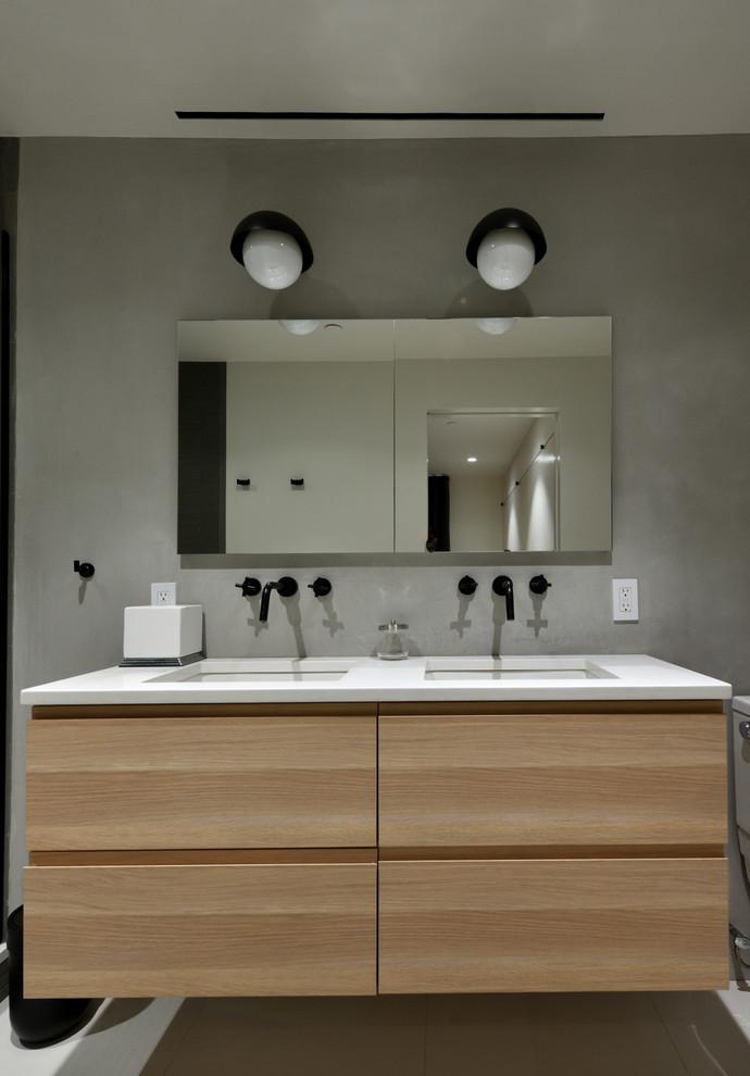 Broadway Brooklyn Renovation - Modern - Bathroom - New ...