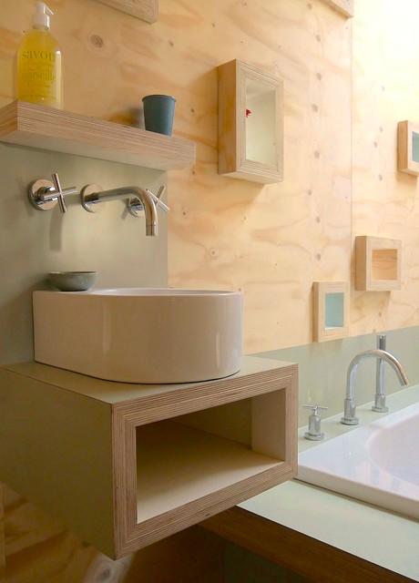 Brockloch tree house contemporary bathroom other by echo living - Tree house bathroom ...