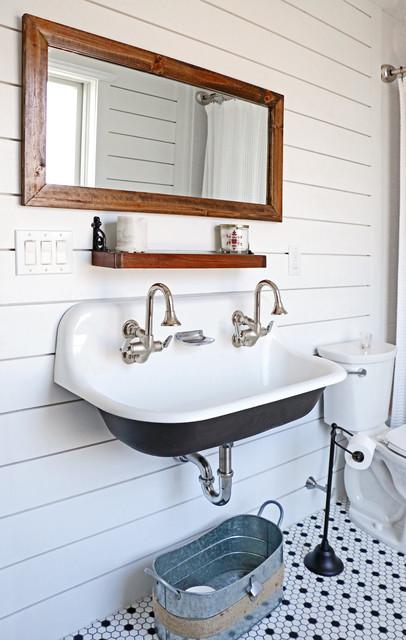 Brockway Sink Farmhouse Bathroom