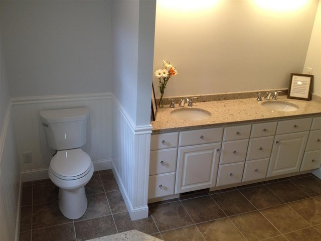 BROM Builders traditional-bathroom