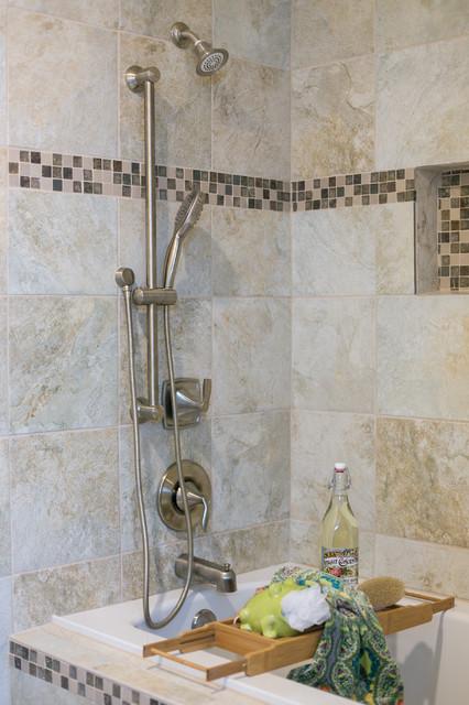 Bathroom - transitional bathroom idea in Portland