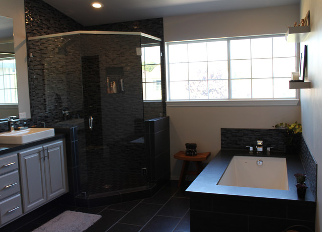 Brook Hollow contemporary bathroom