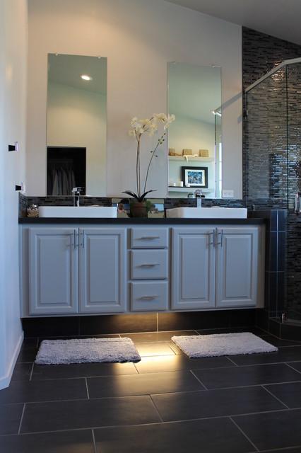 Brook Hollow contemporary-bathroom