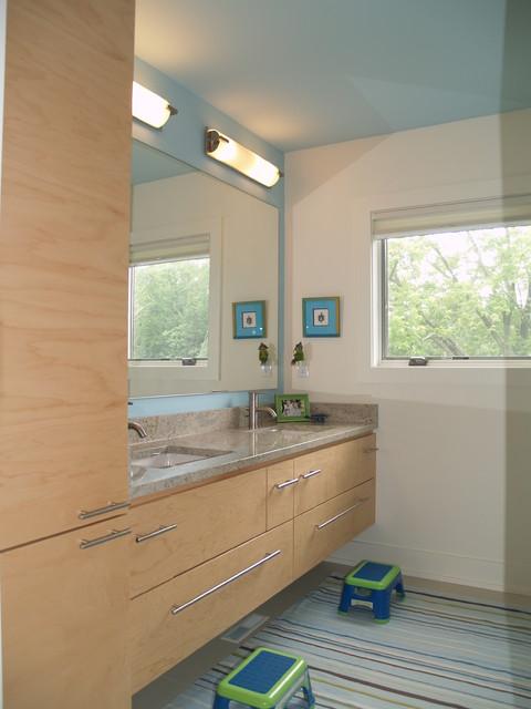 Brookfield Contemporary contemporary-bathroom