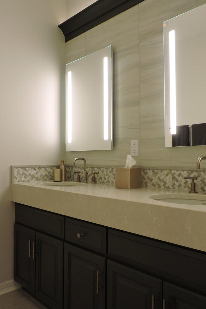 Brookfield - Hall Bath & Interior Updates - Contemporary ...