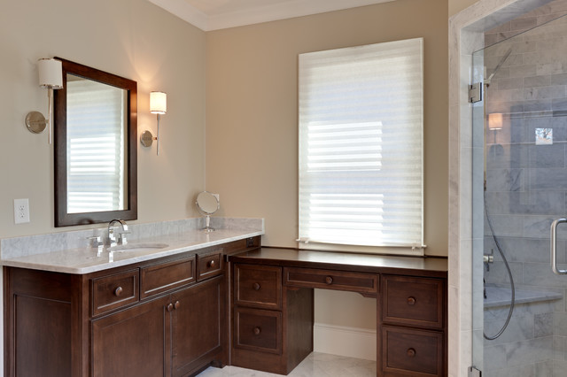 Brookhaven custom home french manor traditional for Bathroom remodel norman ok