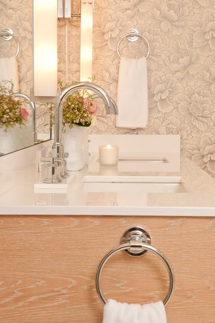 Brookline Private Residence contemporary-bathroom