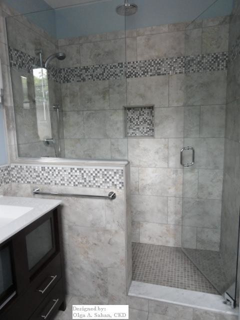 brookline remodel contemporary bathroom boston by design