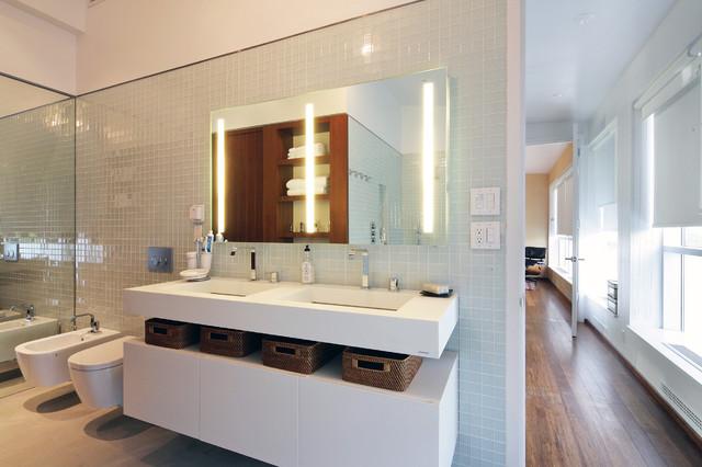Brooklyn Artist Loft Modern Bathroom New York By Bwarchitects Formerly Basil Walter