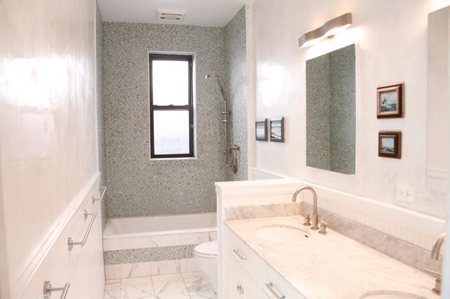Brooklyn Bathroom Remodel Traditional Bathroom New York By Gilloco Construction Inc