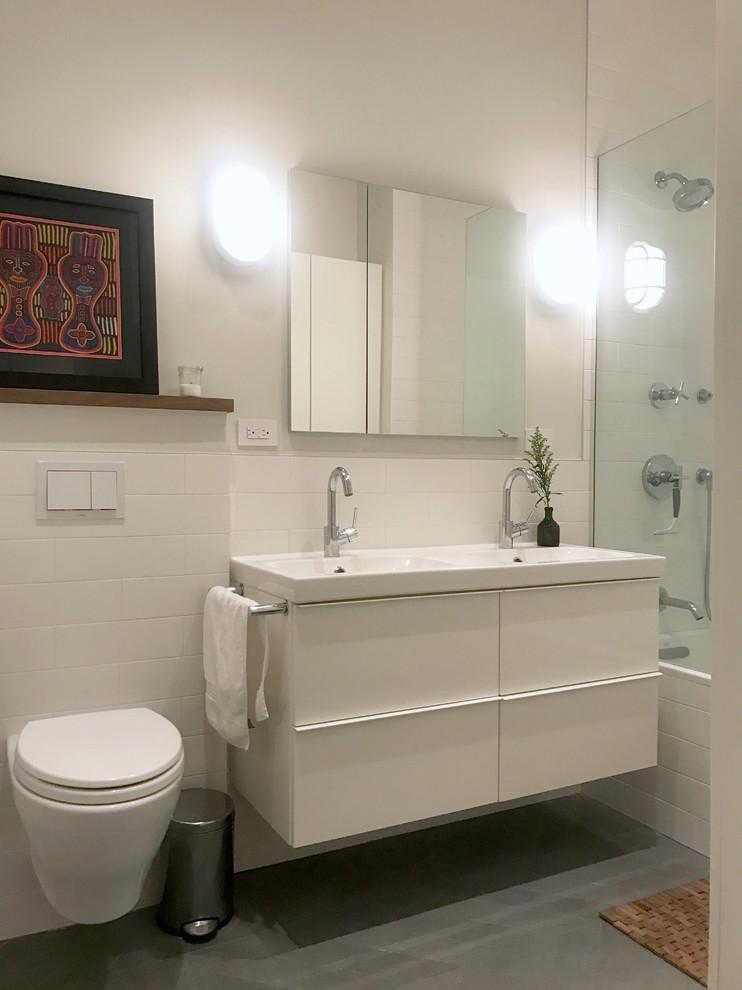 Brooklyn Bridge Loft - Modern - Bathroom - New York - by ...