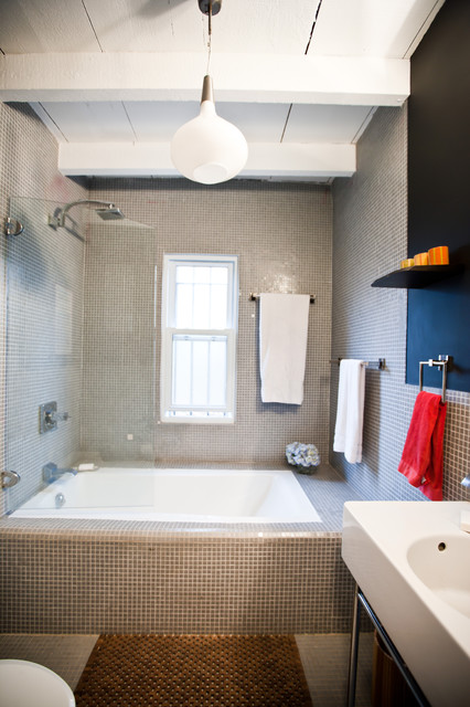 Brooklyn brownstone design and renovation eclectic for Bathroom renovation brooklyn