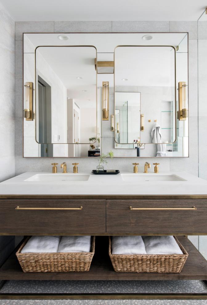 Brooklyn Brownstone - Contemporary - Bathroom - New York ...