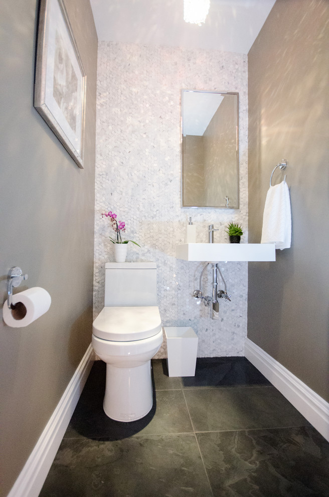 Brooklyn Semi Open Floor Plan - Modern - Bathroom - New ...