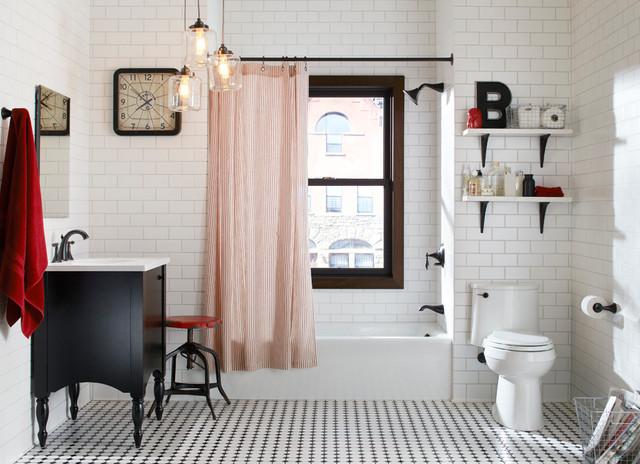 Delicieux Brooklyn Style Bathroom Eclectic Bathroom
