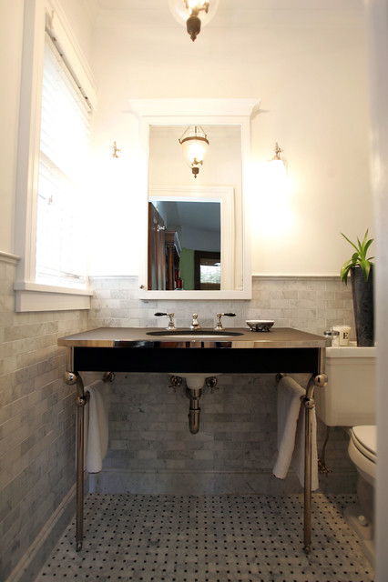 Brooklyn Victorian Remodel Victorian Bathroom Other Metro By Studio 511