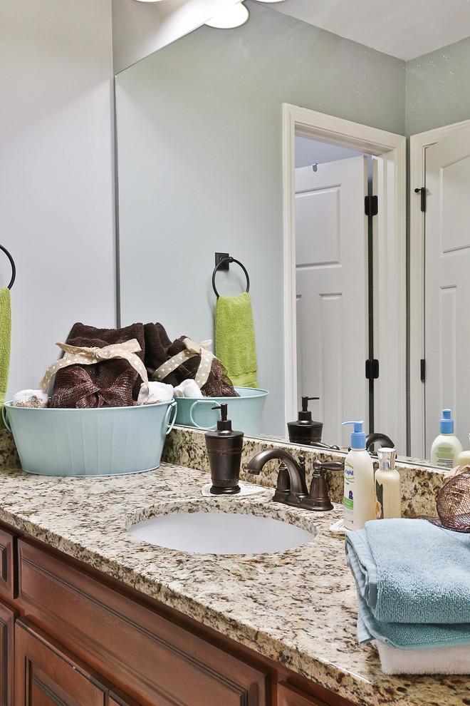 Brooks, GA Farm House - Farmhouse - Bathroom - Atlanta ...