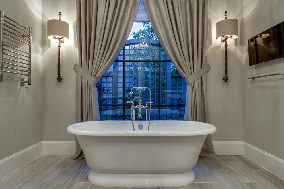 Brookshire Drive Dallas, TX - Transitional - Bathroom ...