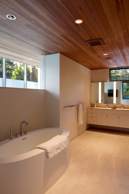 Brooktree Los Angeles Mid Century Modern Midcentury Bathroom Los Angeles By Bilden