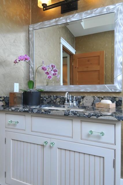 Brunswick 275B, Sarasota, FL - Greenfield Cabinetry eclectic-bathroom