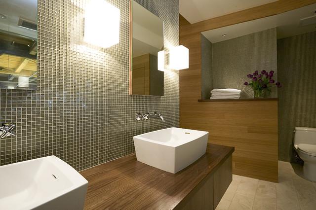 Bryant Street Loft modern-bathroom
