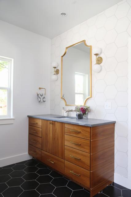 Bryn Mawr New Construction Master Bath Transitional Bathroom Other By Woodstock Cabinet