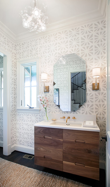 Bryn Mawr Transitional Bathroom Dallas By Tmh Designs