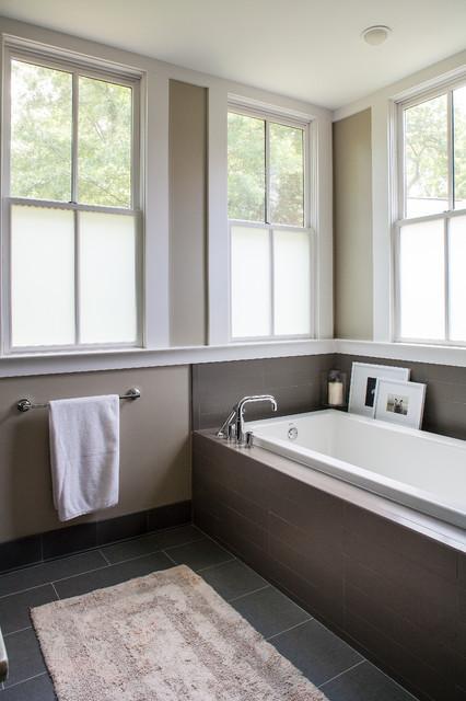 Buckhead ranch whole house renovation for Modern ranch bathroom