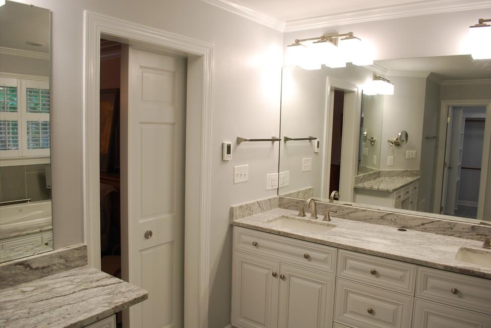 Buckingham, Apex ~ Master Bathroom Remodel - Traditional ...