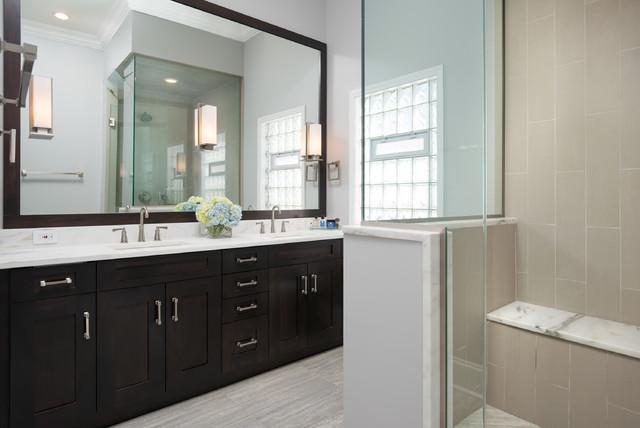 Bucktown Kitchen And Bath Remodel Transitional Bathroom Chicago By Elizabeth Taich Design