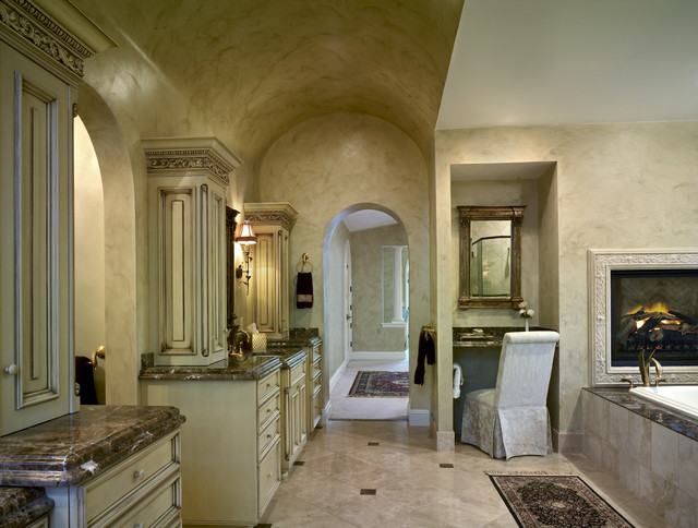 Buell Mansion   Old World Stone Mantels and Fireplaces   Master Bathroom  traditional bathroom. Buell Mansion   Old World Stone Mantels and Fireplaces   Master