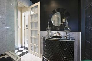 Buena Vista Deco eclectic bathroom