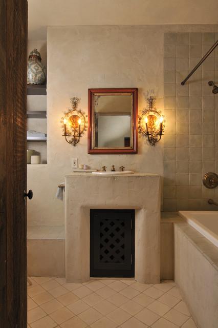 Buffalo Valley Residence rustic-bathroom