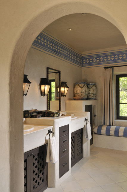 Buffalo Valley Residence mediterranean bathroom