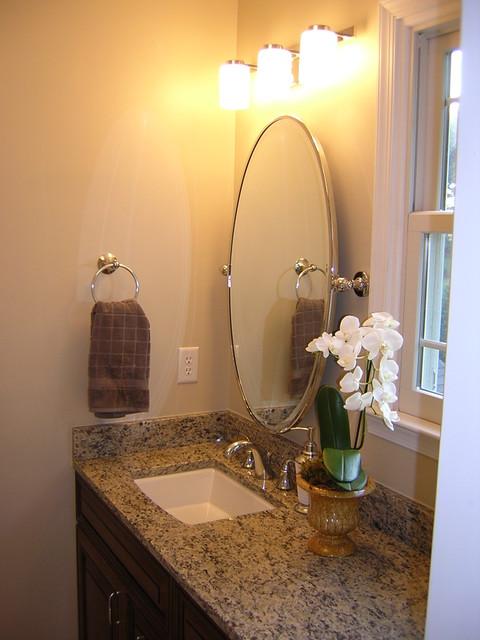 Builder's Grade - Upgraded!! traditional-bathroom
