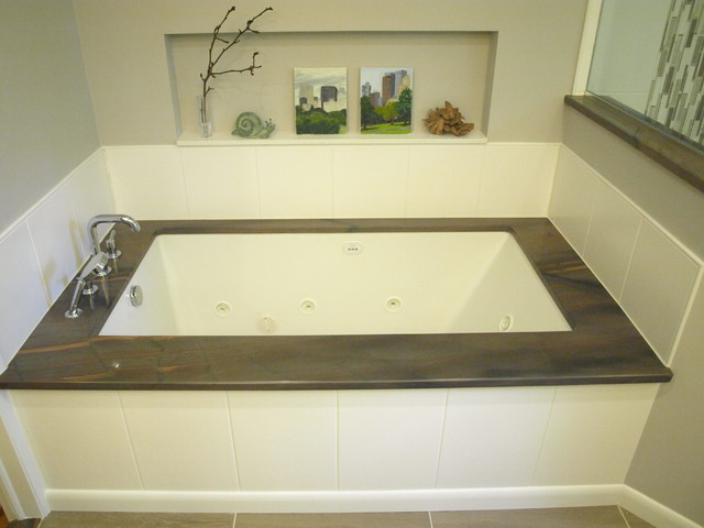 The River Rocks this master suite - Transitional - Bathroom - Newark ...