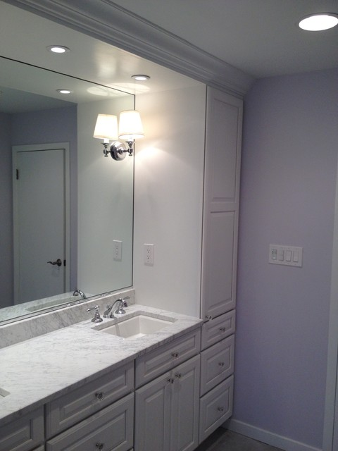 built in bathroom vanity cabinets built in vanity white cabinets traditional bathroom 12661