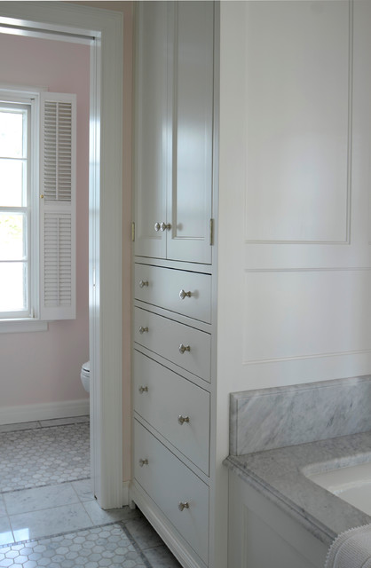 built in cabinets bathroom built ins traditional bathroom portland by emerick 12664