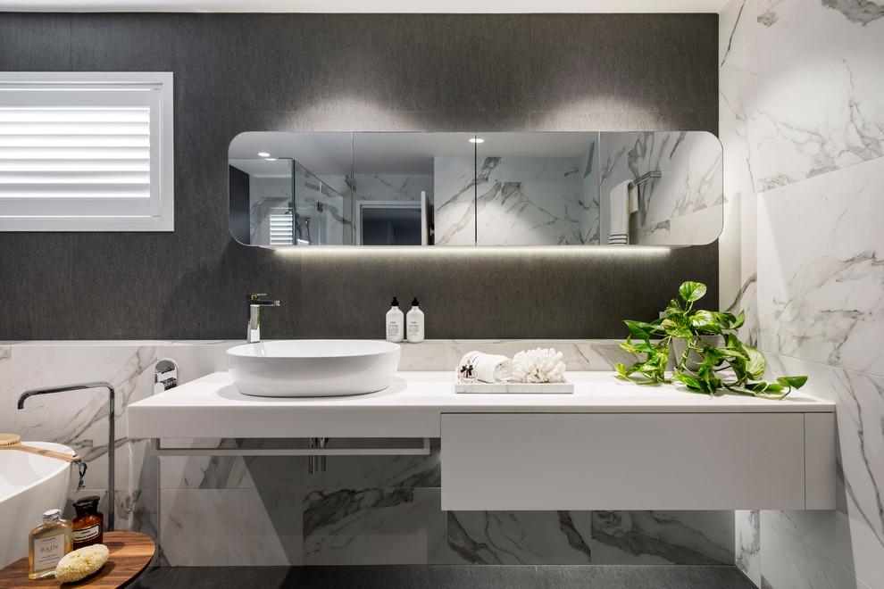 Bulimba Home Bathroom - Contemporary - Bathroom - Brisbane ...