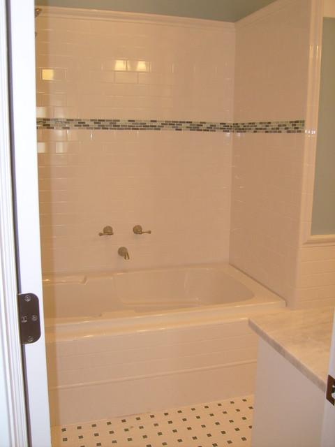 Bungalow Bath traditional-bathroom