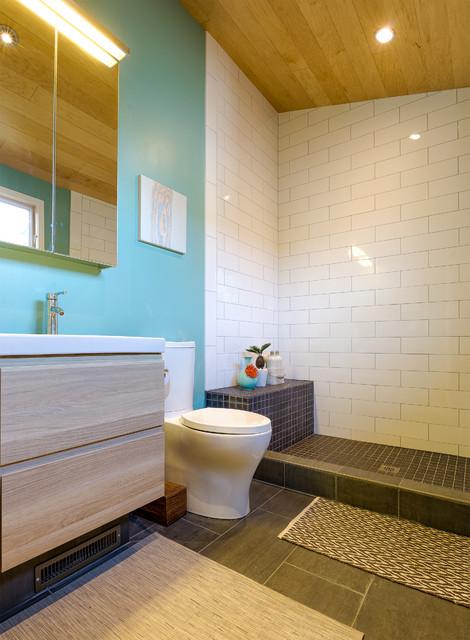 Bathroom Fixtures Berkeley jill's modern berkeley bungalow - contemporary - bathroom - san