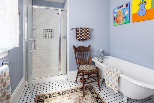 Eclectic Bathroom by Arbuckle Design Builders, LLC