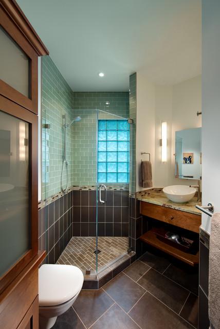 Terrific Bungalow Update Craftsman Bathroom Dc Metro By Download Free Architecture Designs Scobabritishbridgeorg